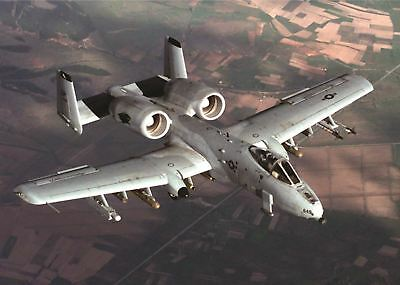 A10 THUNDERBOLT WARTHOG 4 A3 POSTER PICTURE PRINT A891