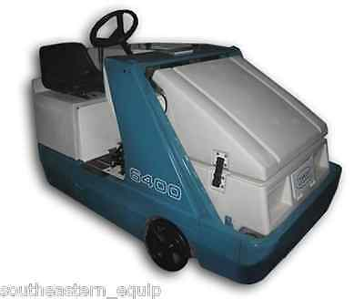 Reconditioned Tennant 6400 Propane Ride-On Sweeper