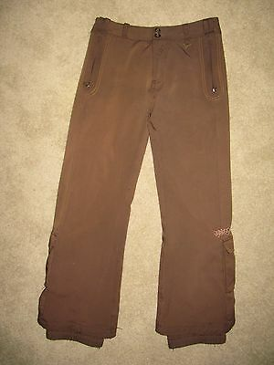 Snowboard Ski Pants - Mens S -Chocolate  Brown - Cold As Ice