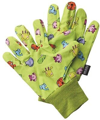 Briers Children's Jungle Garden Gloves Outdoors Bright