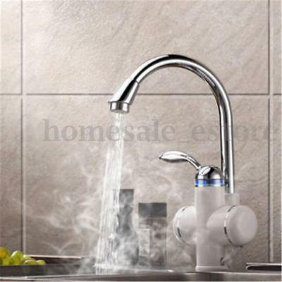 Tankless Instant Electric Hot Water Heater Faucet Bathroom Kitchen Heating Tap. Tankless Electric Instant Hot Water Heater Bathroom Portable