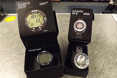 Suunto ZOOP Scuba Diving  Wrist Computer  with free SK8 wrist compass worth £49