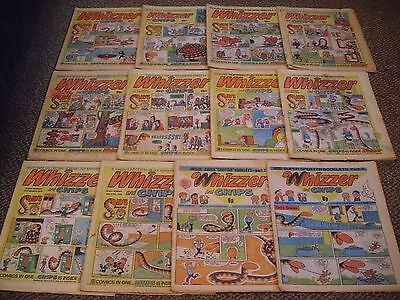Whizzer and chips comics 1976 job lot