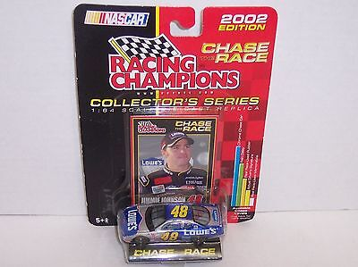 "NEW! 2002 Racing Champions Chase The Race ""Jimmy Johnson"" 1:64 Diecast {3060}"