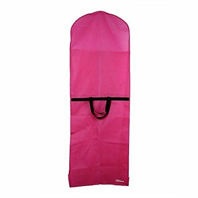 UName Extra Large Pink Breathable Translucent Wedding Gown Garment Bag, New