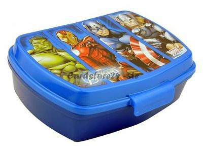 Marvel Avengers Superhelden Brotdose Lunchbox Brotzeitbox Brotbox Dose Vesperbox