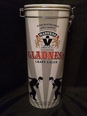 Madness Limited Edition Beer Tin Giftset - UK Exclusive -