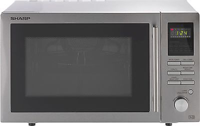 Sharp R82STMA 25L 900W Combi Microwave - Stainless Steel -From Argos on ebay
