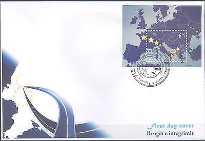 Kosovo 2010 Fdc's Traffic In Pathways Of Integration Very Fine