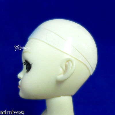 "6-7"" Silicon Wig Cap for Yo-SD 1/6 Bjd Dollfie Doll Head Protection Cover"