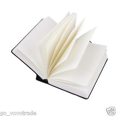 1pc Retro Vintage Journal Diary Notebook Leather Blank Hard Cover Sketchbook
