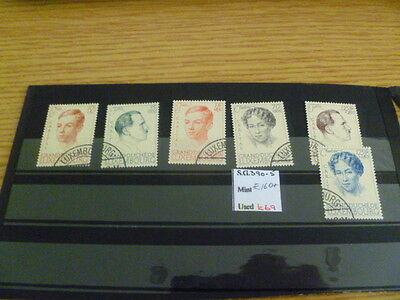 Luxembourg SG 390-5 Catalogue Value £160+ Ref RU17