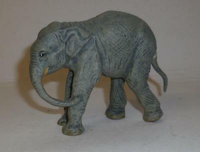 Lineol Vintage Composition Zoo Young African Elephant - A Beautiful Model