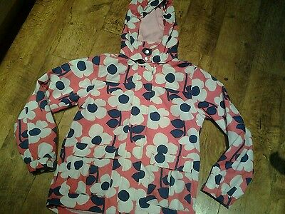 Girls mini boden ditsy floral  coat age 13-14 years