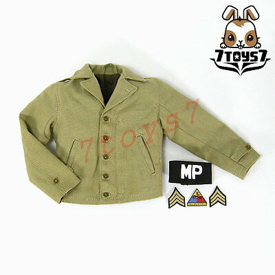 DID 1/6 US 2nd Armored Division Military Police - Bryan_ M42 Jacket _WWII DD072H