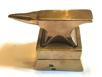Antique Watch Makers Anvil In Bell Metal Or Bronze