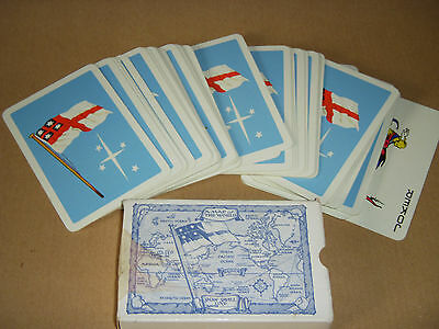 Old Shaw Savill Shipping Line Playing Cards + Jokers