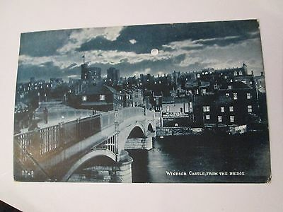 Postcard of Windsor Castle, from the bridge
