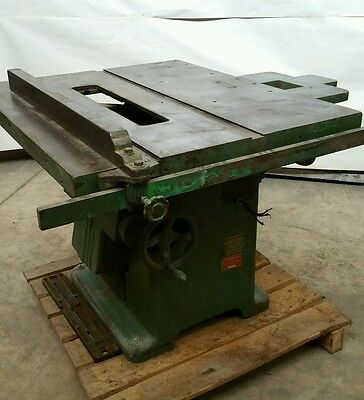 Oliver 270D 5hp table saw  240v 3 phase
