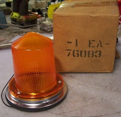 New Grote 76083 Amber Warning Light Becon Lamp 7608