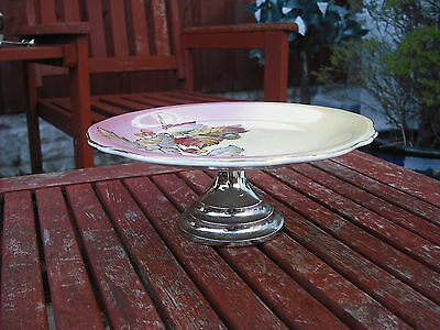 Royal Winton Grimwades Lustre Cake Stand