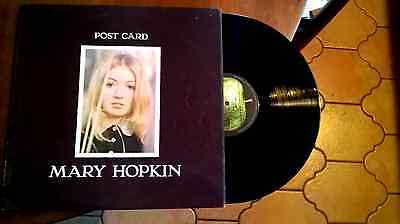 MARY HOPKIN  POST CARD excellent+ 1969 UK first pressing  - MONO -VINYL LP