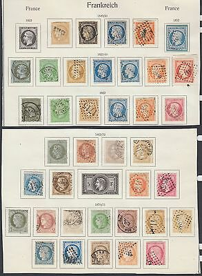 France 1849 - 1875 Ceres , Napoleon collection