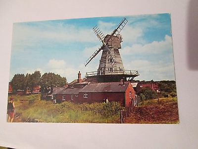 Postcard of The Old White Windmill, Rye unposted