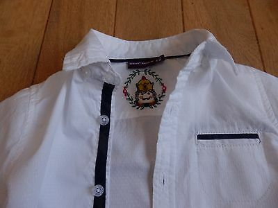 chemise blanche chic sergent major 5 ans