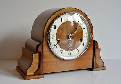 Very Attractive Kienzle German Art Deco 8-Day Westminster Chimes Mantle Clock