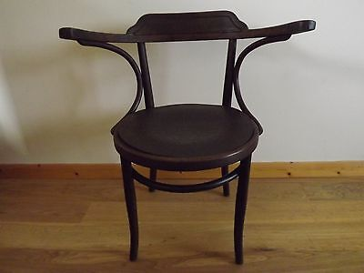 Antique original Bentwood captains or Carver chair ~ armchair