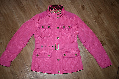 Pink Padded Jacket By Next Age 11-12 Immaculate Condition