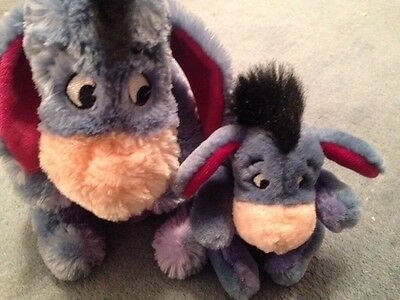 Two Eeyore Soft Toys