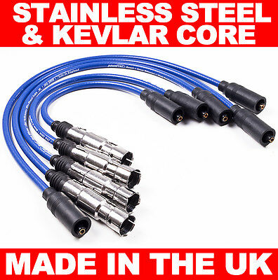 High Performance 8Mm Ht Ignition Leads Seat Alhambra Cordoba Ibiza Leon Toledo