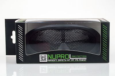 Nuprol Pro Np Pmc Mesh Eye Airsoft Protection Goggles - Black - Official Product
