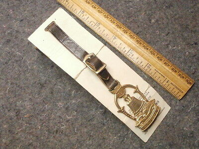 Vintage Watch Fob & Strap/panama-Pacific International Expo./1915/liberty Bell++