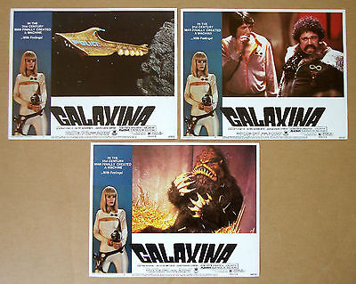 GALAXINA Dorothy Stratten LOT of 3 11x14 LOBBY CARDS #1, #4, #6