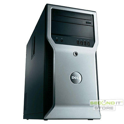 Dell Precision T1600 Workstation Core i3 2x 3,3 GHz 4 GB RAM 500 GB HDD NVIDIA
