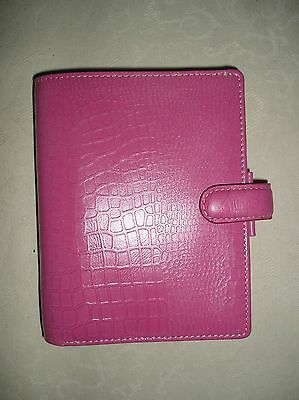 Filofax Pink  Leather Breast Cancer (New)