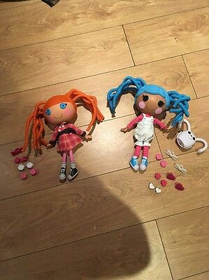 Lalaloopsy Large Dolls x2 Crazy Hair with accessories