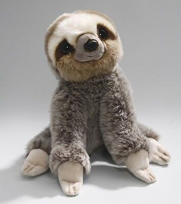 New Plush Cuddly Critters Three Toed Baby Sloth Soft Toy Teddy