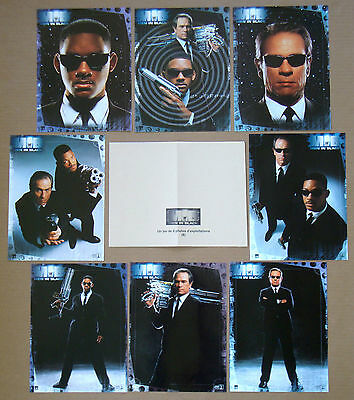 MEN IN BLACK Tommy Lee Jones WILL SMITH Set of 8 French LOBBY CARDS