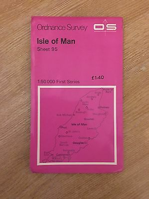 OS Map Isle of Man Sheet 95 Dated 1976