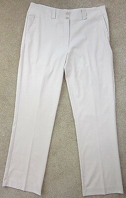 Nike Tech Women's Long Golf Pants Size 12 Birch Mint! Excellent Condition!