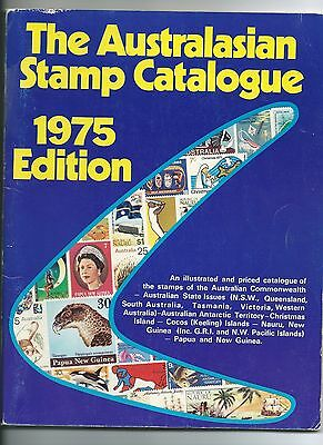 The AUSTRALASIAN STAMP CATALOGUE 1975, published Stamp Publications Dubbo