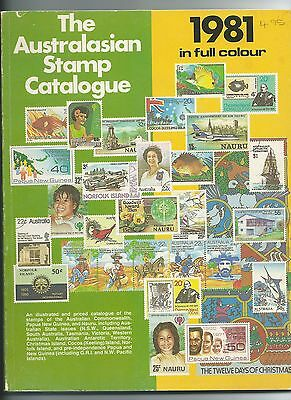 The AUSTRALASIAN STAMP CATALOGUE 1981, published Stamp Publications Dubbo