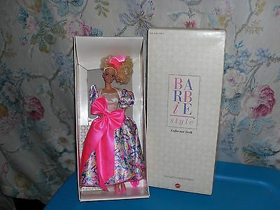 1990 NRFB Special Limited Edition Barbie Style Collector Doll