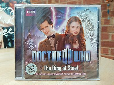 Doctor Who Bbc Audio Cd 'the Ring Of Steel' - New & Sealed