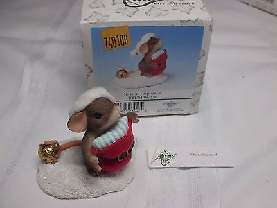 Charming Tails by Fitz and Floyd  Santa Imposter Item 98/236