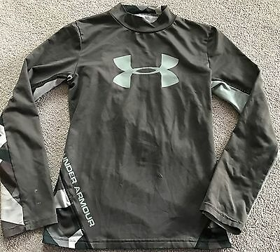 UNDER ARMOUR Compression Cold Gear Gray Shirt~Youth Size YMD